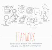 Business teamwork symbols Stock Photography