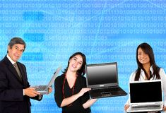 Business technology Stock Photography