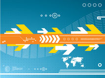 Business Technology background Stock Photo