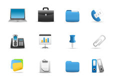 Business and Technology Icons Royalty Free Stock Image
