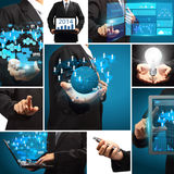 Business technology idea concept creative communication Stock Photo