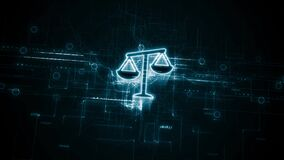 Business, Technology, Internet and network concept. Labor Law Lawyer Legal