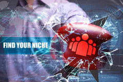 Business, Technology, Internet and network security. find your n royalty free stock photo