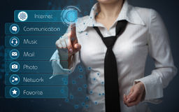 Business, technology, internet and networking concept - business Stock Images