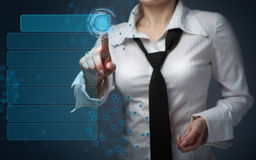 Business, technology, internet and networking concept - business Stock Image