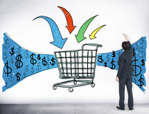 Business Technology Shopping Online Browsing Concept Royalty Free Stock Image