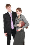 Business teens Royalty Free Stock Images