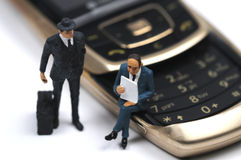 Business by telephone Royalty Free Stock Photo