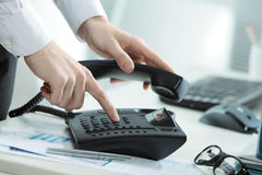 Business Telephone stock photo