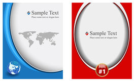 Business template Royalty Free Stock Photo