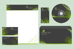 Business Template Royalty Free Stock Photography