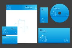Business Template Royalty Free Stock Photos