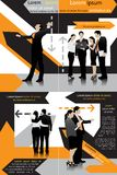 Business Template. Easy to edit vector illustration of business template vector illustration