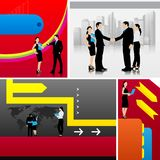 Business Template. Easy to edit vector illustration of business template stock illustration