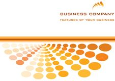 Business template Royalty Free Stock Image