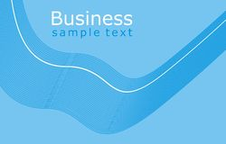 Business Template Background. With abstract lines Royalty Free Stock Image