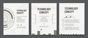 Business template. Brochure design, cover modern layout, annual report, poster, flyer. Abstract Modern Backgrounds. Mobile Technologies, Applications, Online Royalty Free Stock Photos