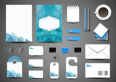 Business template stock illustration