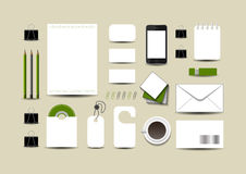Business template royalty free illustration