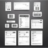 Business template vector set Stock Photo