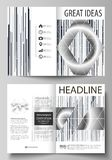 Business templates for bi fold brochure, magazine, flyer. Cover design template, abstract vector layout in A4 size. Business templates for bi fold brochure royalty free illustration