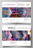 Business templates for bi fold brochure, magazine, flyer, booklet, report. Cover design template, abstract vector layout Royalty Free Stock Image