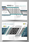 Business templates for bi fold brochure, magazine, flyer, booklet or report. Cover design template, vector layout in A4. Business templates for bi fold brochure stock illustration