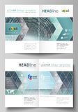 Business templates for bi fold brochure, magazine, flyer, report. Cover design template, easy editable vector, abstract Royalty Free Stock Photos