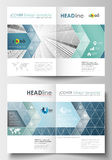 Business templates for brochure, magazine, flyer, booklet, annual report. Cover design template, flat layout in A4 size Royalty Free Stock Image