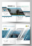 Business templates for brochure, magazine, flyer, booklet. Cover design, abstract flat style travel decoration layout in Stock Photography