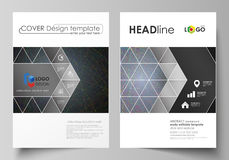 Business templates for brochure, magazine, flyer, booklet. Cover design template, vector layout in A4 size. Colorful. Business templates for brochure, magazine vector illustration