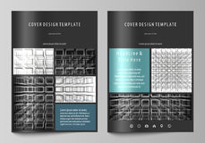 Business templates for brochure, magazine, flyer. Cover design template. Business templates for brochure, magazine, flyer, booklet or annual report. Cover design royalty free illustration