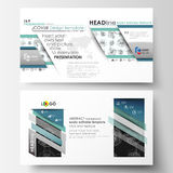 Business templates in HD format for presentation slides. Easy editable layouts. High tech design, connecting system. Science and technology concept. Futuristic Stock Illustration