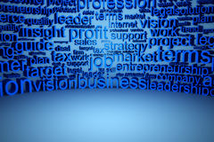 Business text background Royalty Free Stock Photo