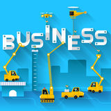 Business Text Royalty Free Stock Photos