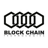 Business block chain logo illustration. Royalty Free Stock Images