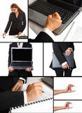 A business themed collage Royalty Free Stock Image
