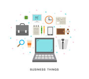 Business things Stock Photography