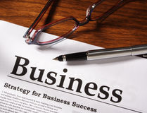 Business Things on Table Stock Photos
