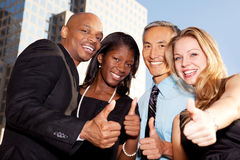 Business Thumbs Up Royalty Free Stock Image