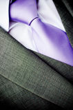 Business tie and suit Stock Photos