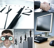 Business time Royalty Free Stock Photos
