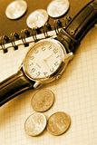 Business time background Royalty Free Stock Images