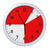 Business time, clock Stock Photography