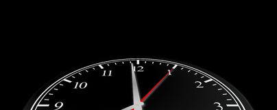 Business Time Clock Concept Stock Photography