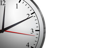 Business Time Clock Concept Stock Photos