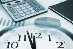 Business time concept Stock Image