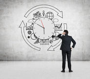 Business time concept Stock Images