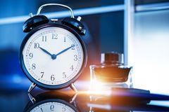 Business on Time royalty free stock photography