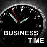 BUSINESS TIME Royalty Free Stock Photography